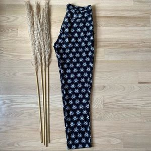 Maison Scotch Abstract Printed Trousers   size 28